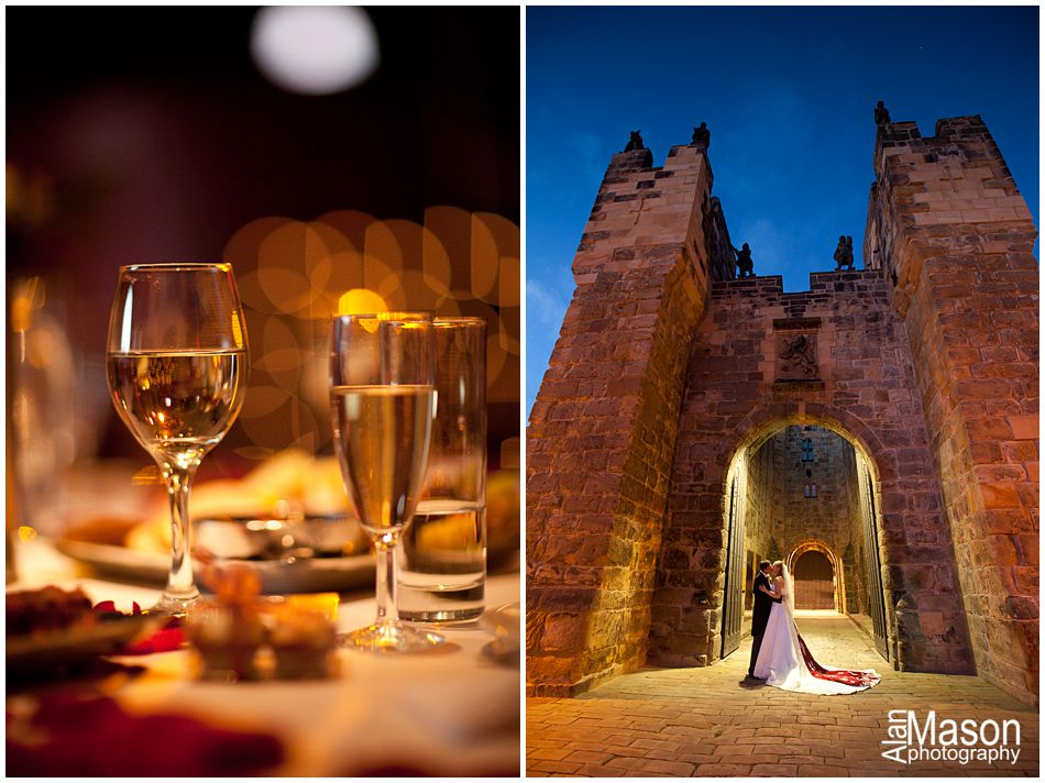 Alnwick Castle wedding pictures