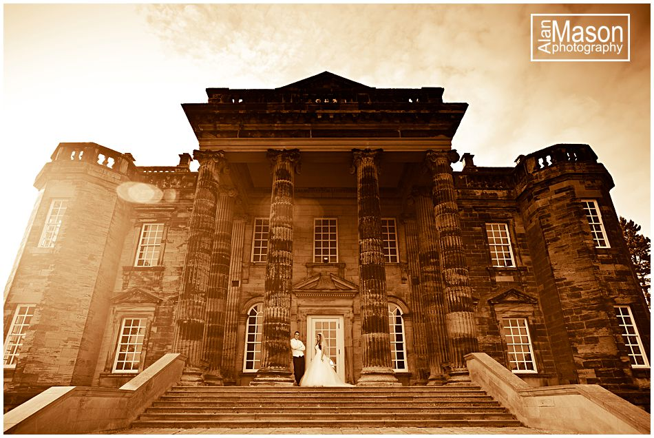 seaton delaval hall wedding pictures