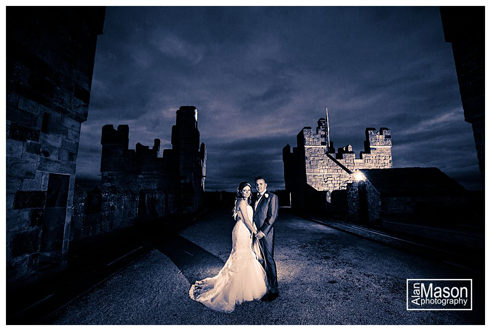 langley castle northumberland wedding