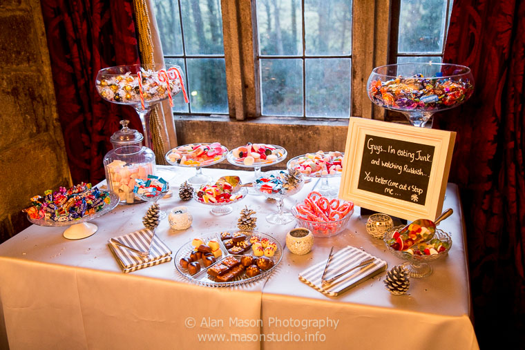 wedding sweet bar northumberland