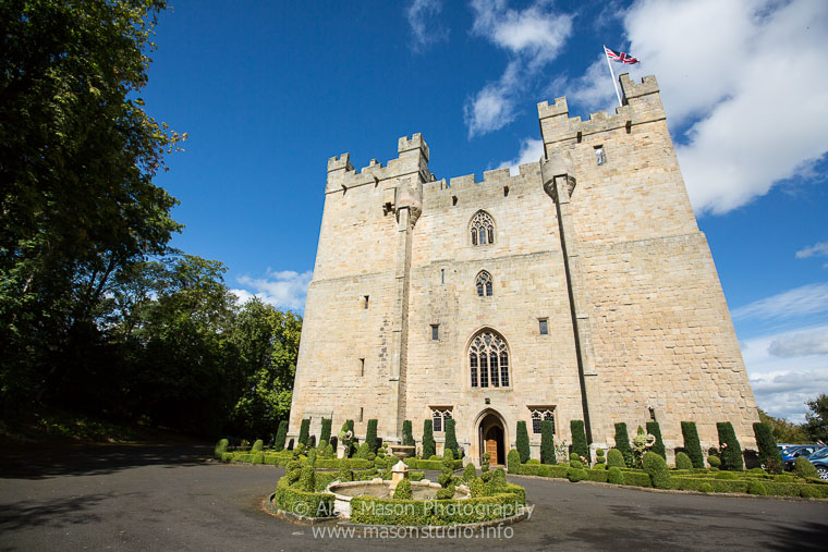 langley castle wedding picture  001