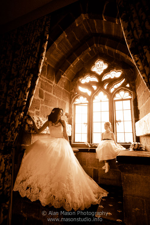 langley castle wedding picture  005