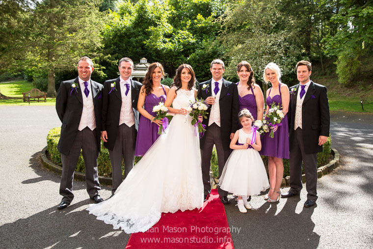langley castle wedding picture  016