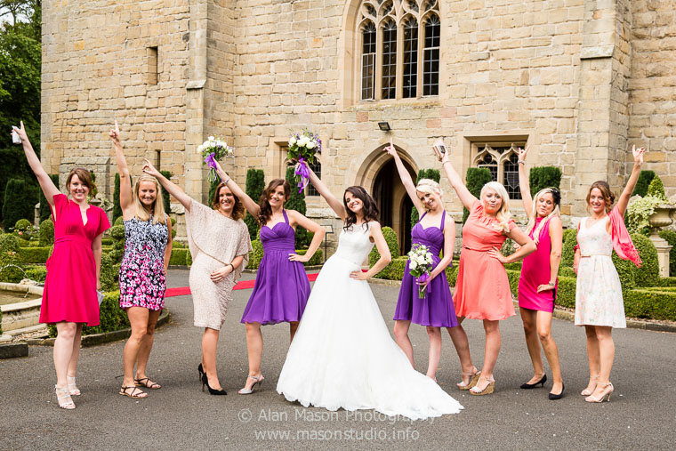 langley castle wedding picture  018