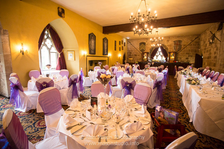 langley castle wedding picture  021