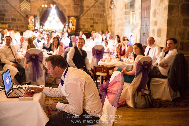 langley castle wedding picture  031