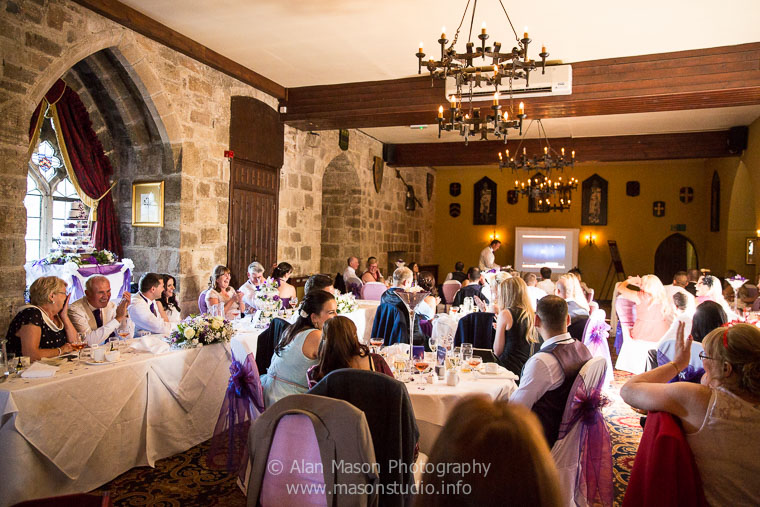 langley castle wedding picture  033