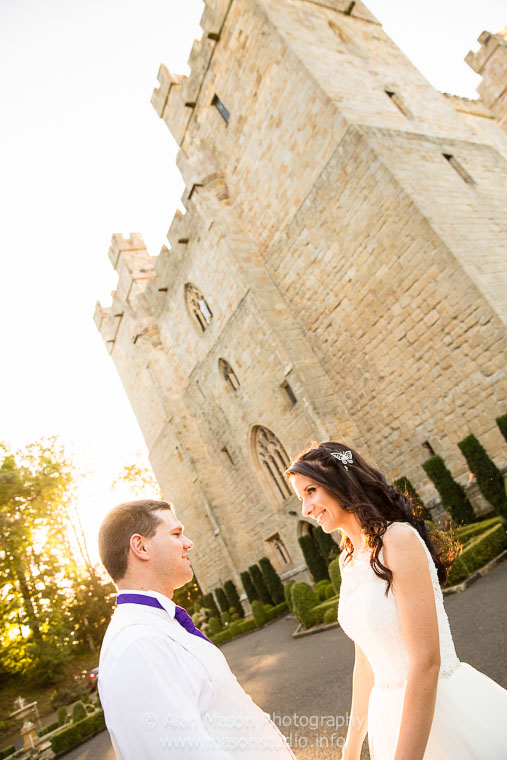 langley castle wedding picture  035