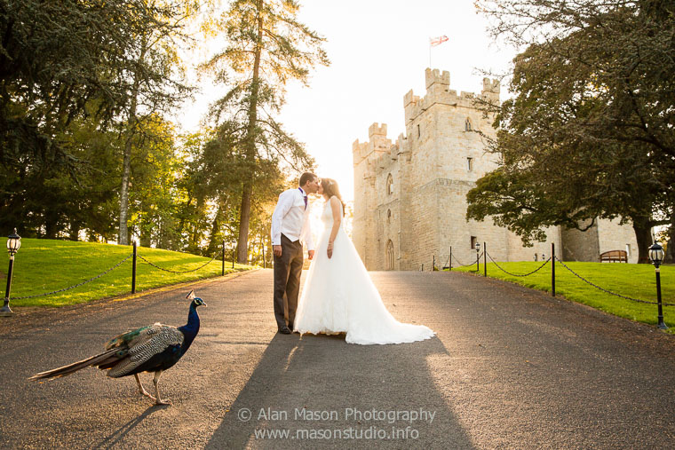 langley castle wedding picture  036
