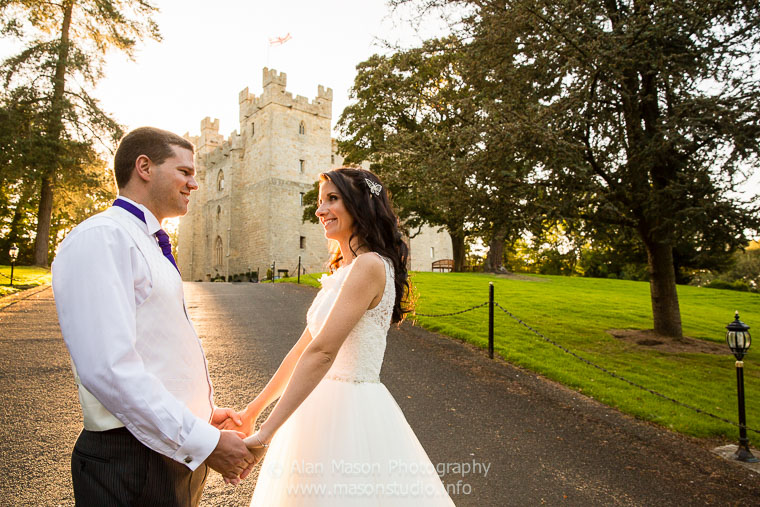 langley castle wedding picture  037