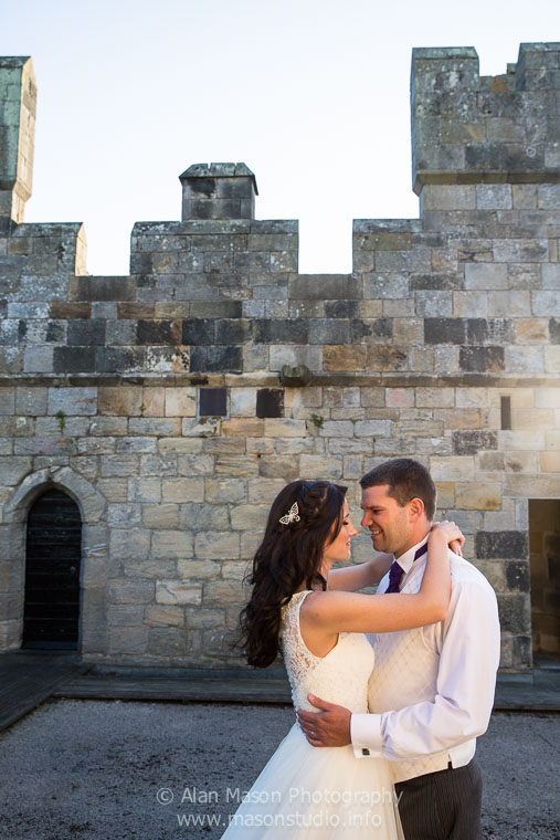 langley castle wedding picture  038