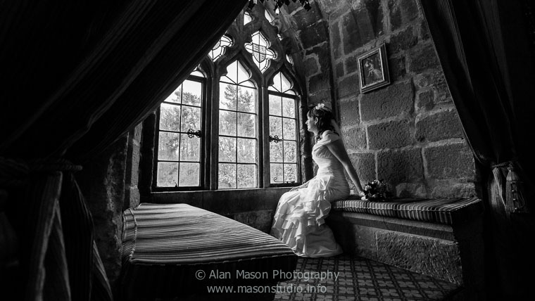 langley castle civil wedding