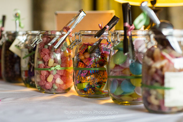 durham wedding sweetie cart