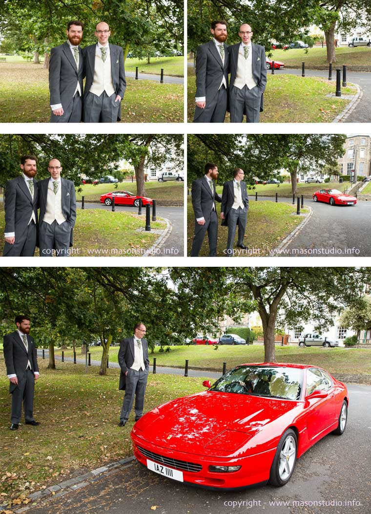 wedding ferrari durham