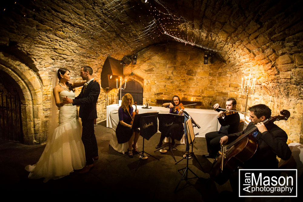 lumley castle wedding picture
