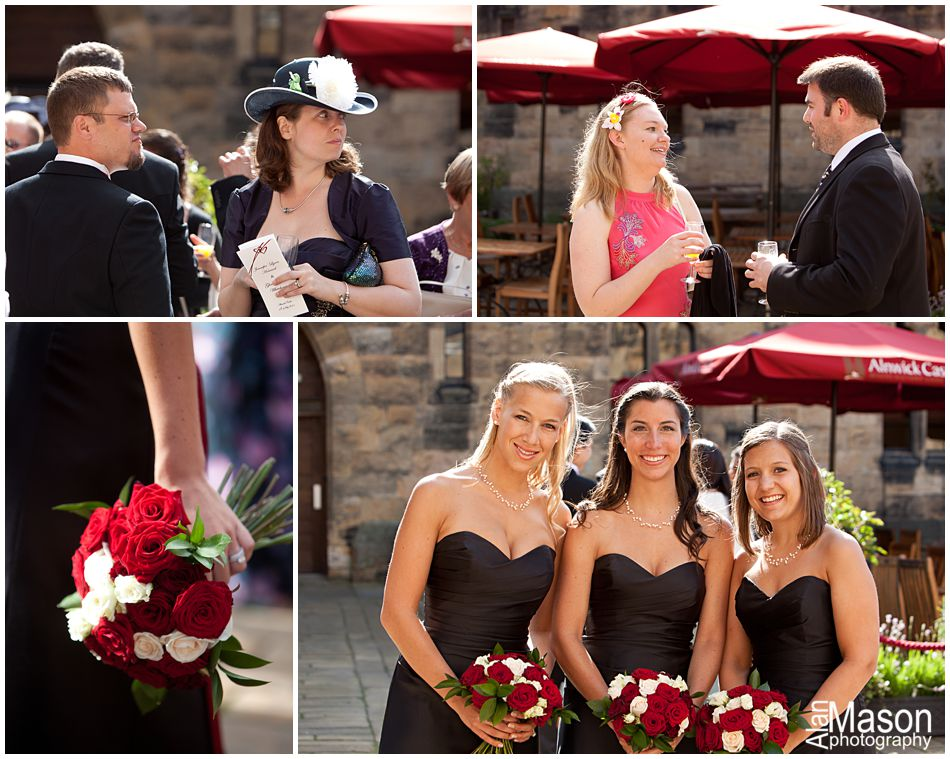 Alnwick Castle wedding photographer
