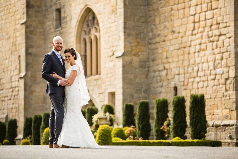 langley castle wedding pictures