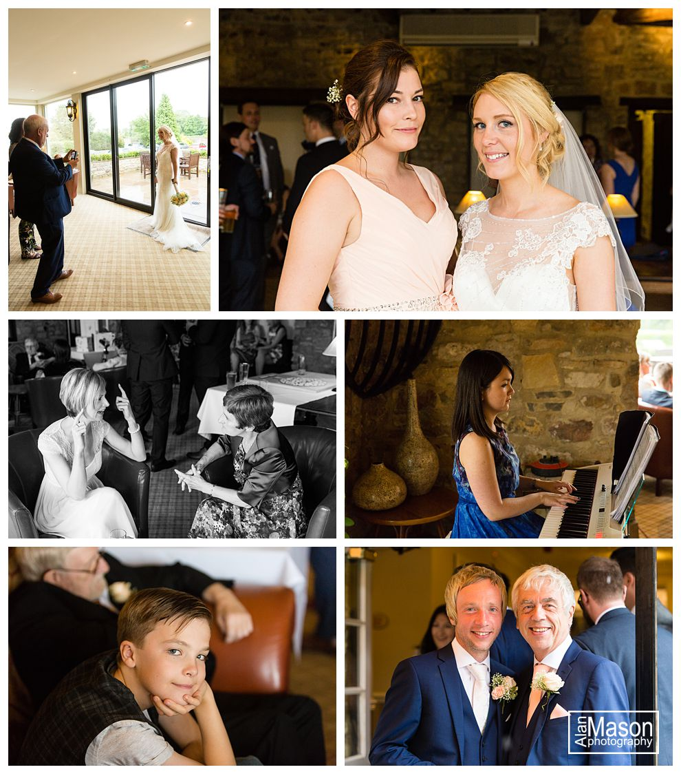 headlam hall durham wedding photographer
