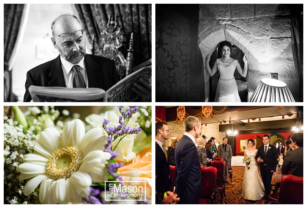 langley castle wedding offers