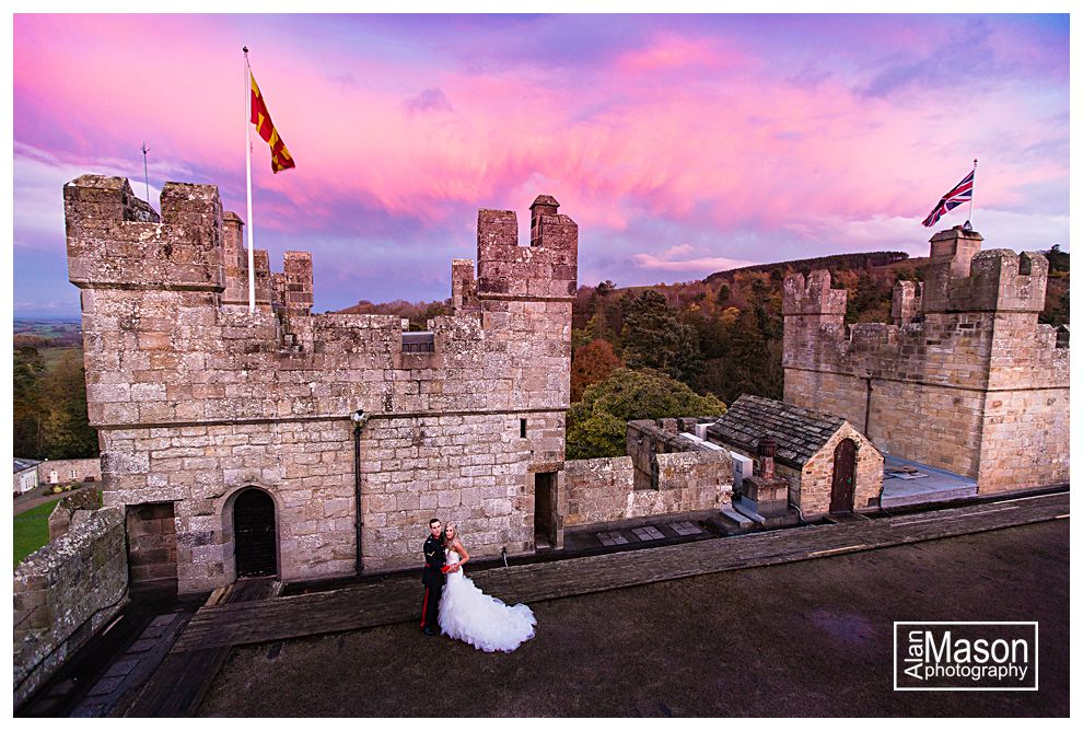 langley castle northumberland wedding pictures_0175