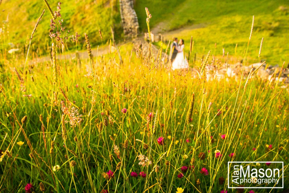 summer wedding north east england