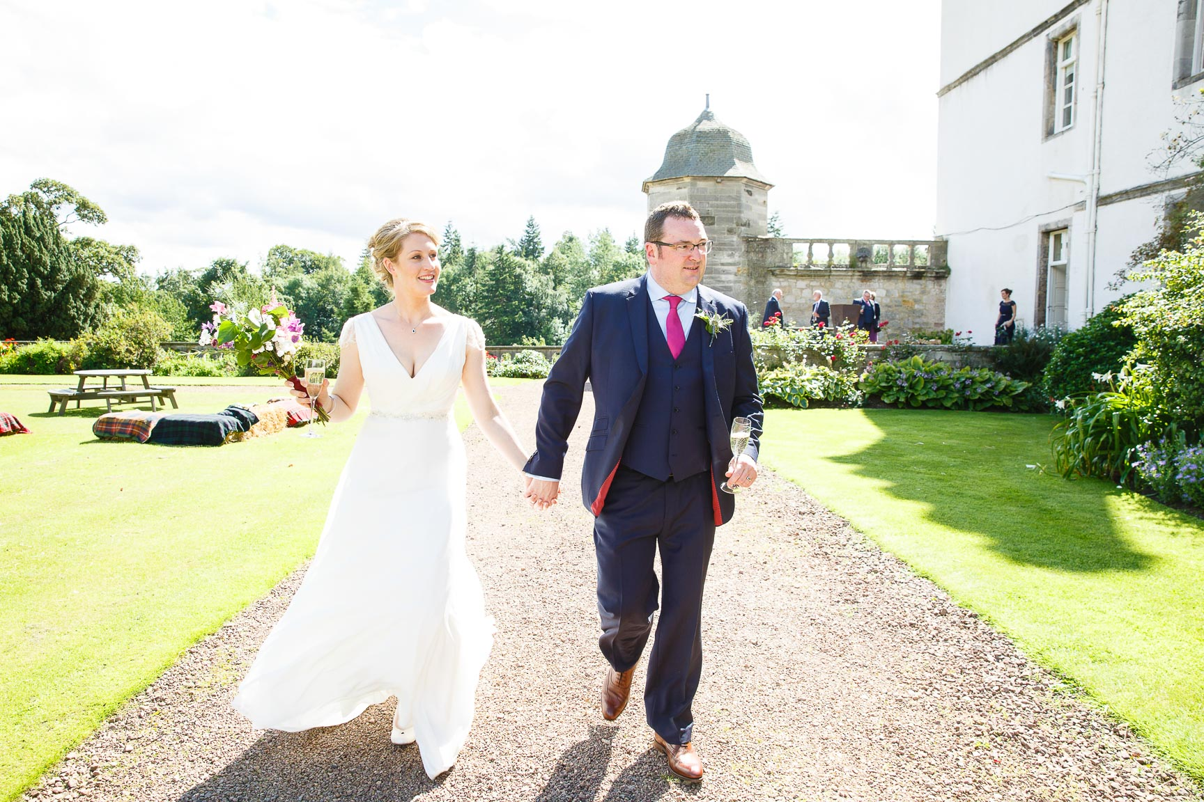 winton castle wedding photographer