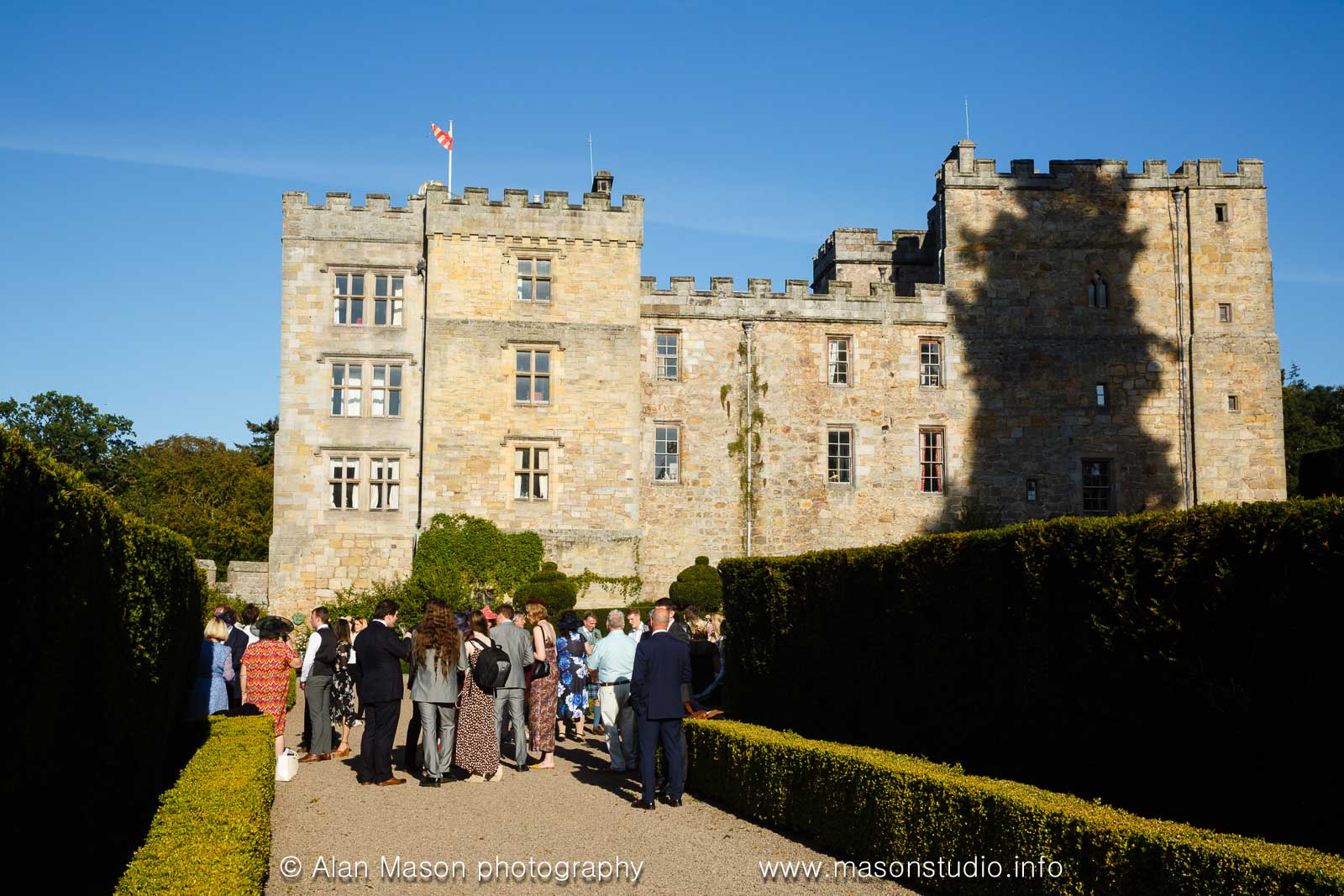 chillingham castle wedding photographer