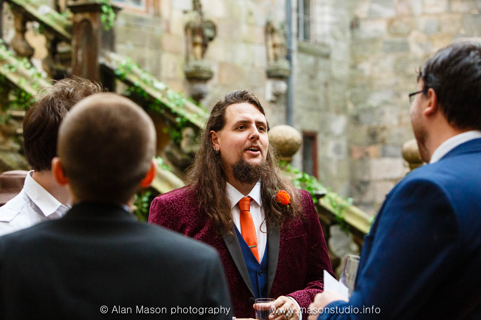 chillingham castle wedding